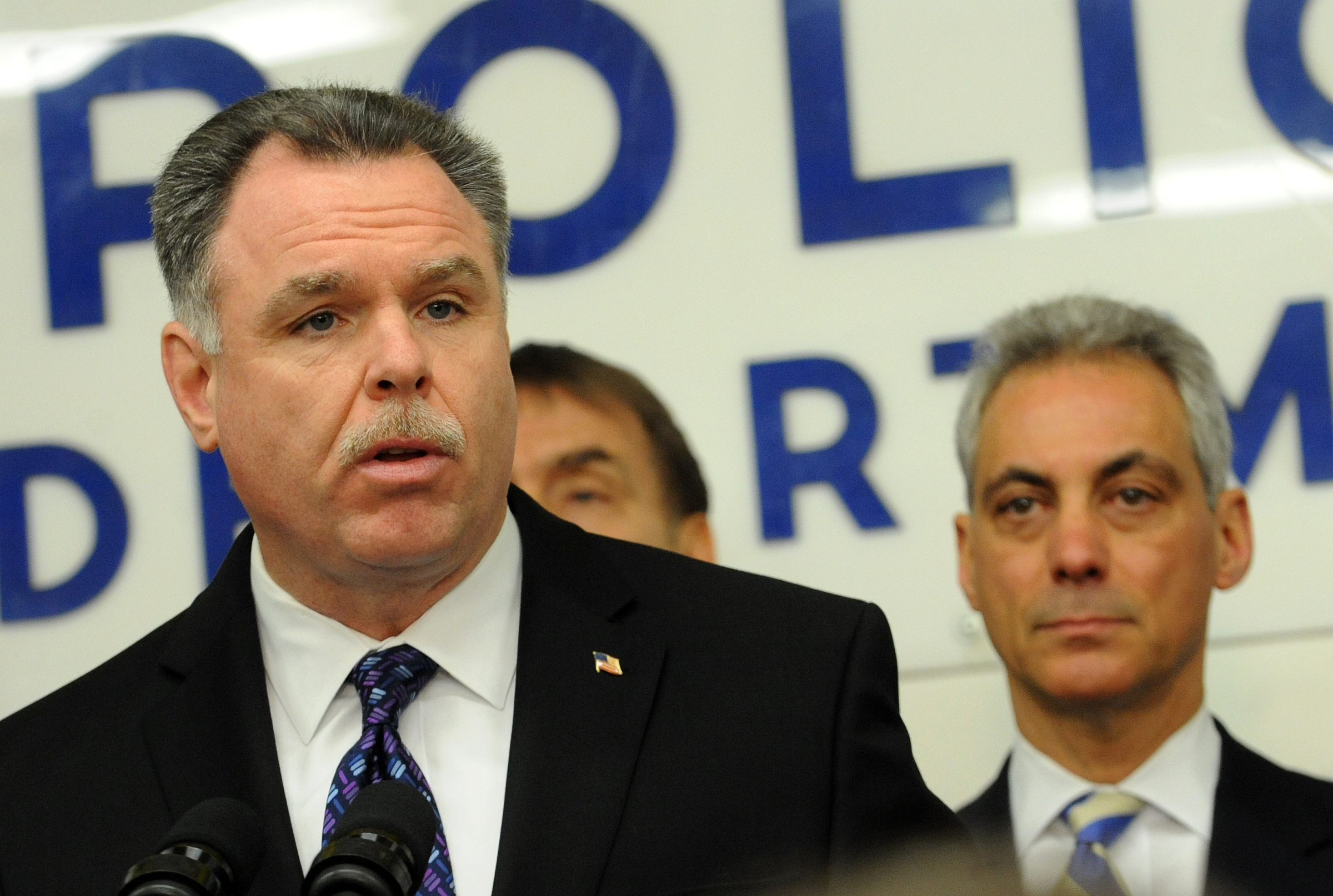 Chicago Police Superintendent Garry McCarthy (Used by permission of Sun-Times Media)